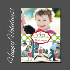 Christmas Card  Holiday Card  Photo  by allisonpowelldesigns, $15.00