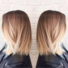 balayage medium straight hair - Google Search