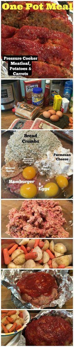 Pressure Cooker Meatloaf Recipe - iSaveA2Z.com