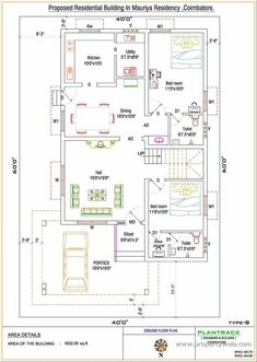 Duplex house plan for North facing Plot 22 feet by 30 feet 2 House Plan North Facing Unforgettable Vastu Plans For Free 13 Best Of 900 Sq Ft House Plans New Plan Ideas 750 Indian Style 2 bhk house plan north facing 750 Sq Ft 2 Bhk Apartment For In 20x30 House Plans, Free House Plans, 2 Bedroom House Plans, Best House Plans, 2bhk House Plan, Model House Plan, House Layout Plans, Home Map Design, Duplex House Design
