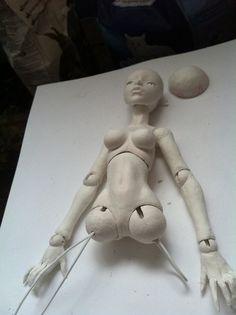 Marionette mirage doll makers progress