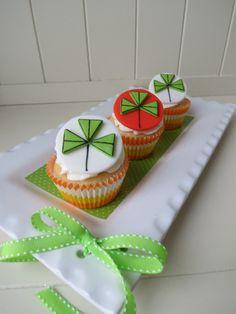 st patricks day cupcakes