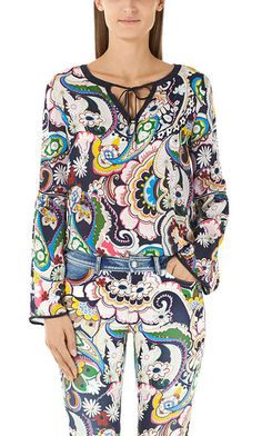 Blouse in the boho style