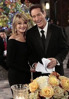 2013 Deidre Hall and Drake Hogestyn. Soap Opera Stars, Soap Stars, Drake Hogestyn, Deidre Hall, Casting Pics, Days Of Our Lives, It Cast, Soaps, 1980s