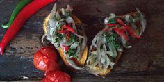Bataty z boczniakami i chili | Eksperymentuj z szefem