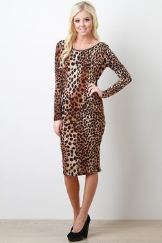 NEED I SAY ANYTHING?!! Instinctual Habits Dress