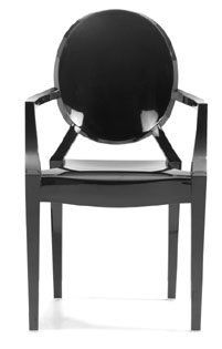 Fine Mod Clear Side Dining Chair By Fine Mod Made Of Transparent Ac