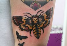 Moth tattoo. So obsessed with silence of the lambs that I need one of these... Just don't know where or how.