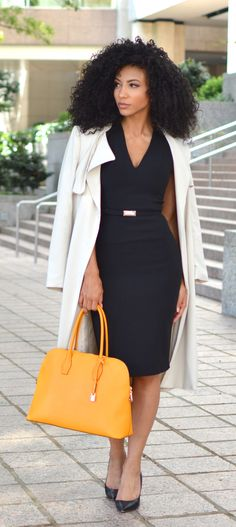 9 Staple Pieces Add These to Your Christmas List White Collar Glam Charlotte NC attorney outfit black attorney mixed girl professional clothes work outfit work clothes o. Business Professional Outfits, Professional Dresses, Business Outfits, Business Attire, Professional Wardrobe, Young Professional, Business Casual, Corporate Attire, Work Wardrobe