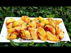 Cartofi la cuptor, cu rosii si usturoi, de post este una dintre cele mai simple, mai economice si mai rapide retete. O reteta ieftine, simpla si gustoasa. Romanian Food, Potatoes, Vegetables, Mai, Ethnic Recipes, Vegans, Potato, Vegetable Recipes, Veggies