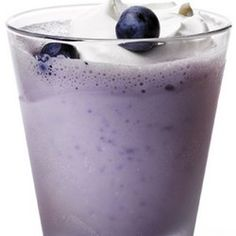 Blueberry Malt Milkshake
