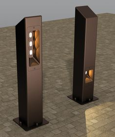 X1203 LED High/Low Level Bollards