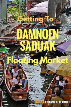 Getting to the Floating Market of Damnoen Saduak via @grrrltraveler