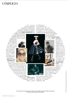 There is a reason why I have a crush on Harper's Bazaar España, apart from Sandra Suy's beautiful illustrations. The attention to the layout of text, in relationship to images, is really quite some...