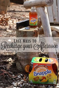 In need of an afternoon pick me up? See how I recharge and make sure I'm ready for whatever the afternoon brings with a few simple tips and Snapple #Takes2ToMangoTea from #Walmart! #ad