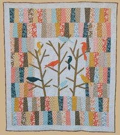 Blue Jay Way Quilt Pattern by Abbey Lane
