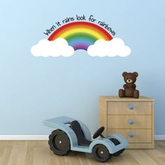 When-It-Rains-Look-For-Rainbows-Wall-Sticker-Kids-Quote-Wall-Art