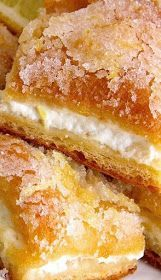 These Lemon Cream Cheese Bars are beyond delicious and the tangy, zesty flavour is fresh and makes for the perfect dessert. You won't be disappointed. Lemon Desserts, Lemon Recipes, Easy Desserts, Baking Recipes, Sweet Recipes, Cookie Recipes, Delicious Desserts, Yummy Food, Bar Recipes