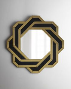 "Finally tracked down this octagonal ""Knot"" Mirror at Horchow. ...It is mine now. (Or will be in 3-5 days!) SO excited!"
