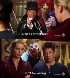 I laughed so hard when he said this...this show is just so good
