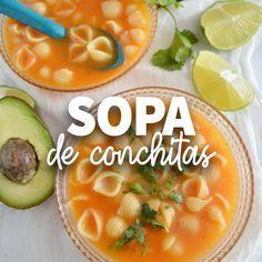 Authentic Mexican Recipes, Mexican Food Recipes, Soup Recipes, Cooking Recipes, Food Platters, Food Dishes, Vegan Pumpkin Soup, Healthy Snacks, Healthy Recipes
