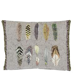 Designers Guild Quill Natural Decorative Pillow