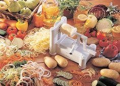 Enjoy 17% Off The Paderno World Cuisine Tri-Blade Plastic Spiral Vegetable Slicer!