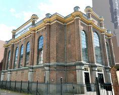 De synagoge in Arnhem.