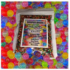 20000 Crystal Water Gel Balls Water Beads Orbeez Refill Jelly Kid Toy Decoration #Branded