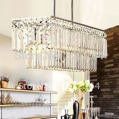 """$215   crystal chandelier are as follows:1,size:65*19*62cm2,the color 25.5"""" x 7.5"""" x 24"""""""