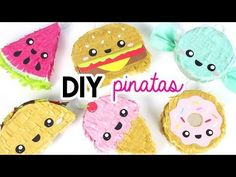 PARTY DECORATING IDEAS: ADORABLE DIY MINI PINATAS