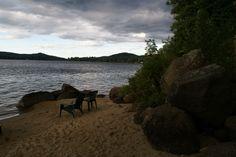 Long Lake in the Adirondacks, NY