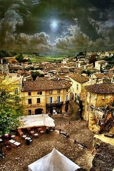 Bordeaux, France.  I want to go to France so much.  I can remember seeing a piece of the tapestry from Bordeaux/