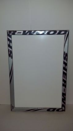 Hockey stick framed dry erase board 23 x 16  by HockeyStickFrames, $50.00