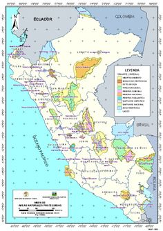 Areas naturales protegidas de Perú