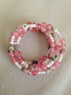 Spring Pastels Bracelet by ACharmedDelight on Etsy, $18.00