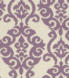 Home Decor 8''x 8'' Fabric Swatch  Print Fabric-Waverly Luminary Lilac, , hi-res