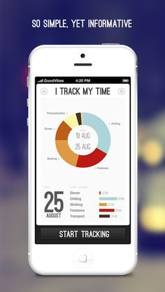 iTrackMyTime App for iPhone by Aleksej Tišionok, via Behance This type of time manager doesn't work for everyone, but it's a beautiful layout and well organized for those who would use it Web Design, Flat Design, Graphic Design, Serious Game, Tablet Ui, Ui Patterns, Mobile Ui Design, Mobile App Ui, Ui Design Inspiration