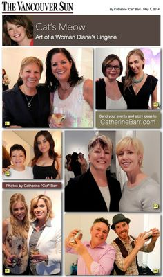 Art of a Woman breast cancer fundraiser with Diane's Lingerie.