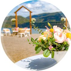 Pop-up Weddings & Elopements at MyGardenWedding.ca in Lake Country, BC Garden Wedding, Wedding Table, Wedding Ceremony, Wedding Venues, Party Service, Table Signs, Elopement Inspiration, Party Guests, In The Heart