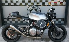 Triumph fighter cafe