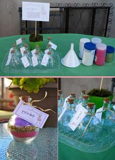 Fairy Dust craft for a fairy party