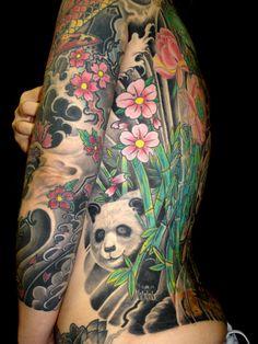 panda bear tattoos | panda tattoo | Каталог