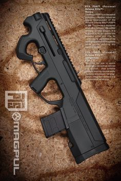 Magpul compact rifle concept - an airsoft version of this would be pretty cool! Weapons Guns, Military Weapons, Guns And Ammo, Cosplay Weapons, Airsoft, Rifles, Future Weapons, Survival, Fire Powers
