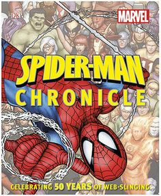 SpiderMan Chronicle Hardcover Book