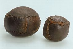 Small and Medium leather balls would be excellent largesse! And if you make them cubic. they're very material-efficient as well.