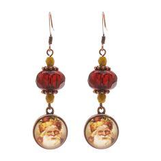 Tutorial - How to: Old World Santa Earrings | Beadaholique