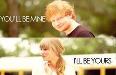 Everything Has Changed Omgosh I am listening to this song RIGHT NOW!!! And as they said the line I read it.