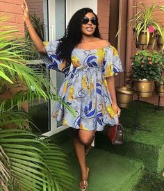 african fashion African Print Dress Hello Fashionista Today again, Ive selected some amazing trendy ankara styles for you to rock this festive season. This time it Short African Dresses, Ankara Short Gown Styles, Latest African Fashion Dresses, African Print Dresses, African Print Fashion, Best African Dress Designs, Ankara Gowns, Ankara Dress, African Traditional Dresses