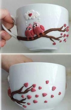 Mugs and clay